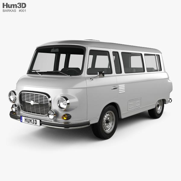 Barkas B1000 KB 1961 3D-Modell