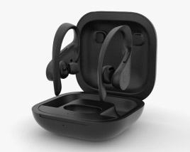 3D model of Beats Powerbeats Pro Black