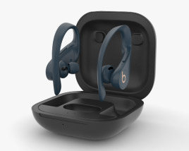 3D model of Beats Powerbeats Pro Navy