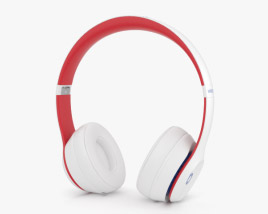 3D model of Beats Solo 3 Wireless White