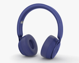 3D model of Beats Solo Pro Dark Blue