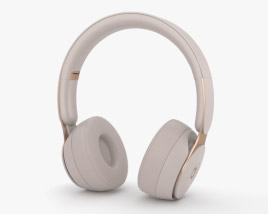 3D model of Beats Solo Pro Gray