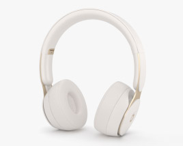 3D model of Beats Solo Pro Ivory