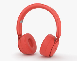 3D model of Beats Solo Pro Red