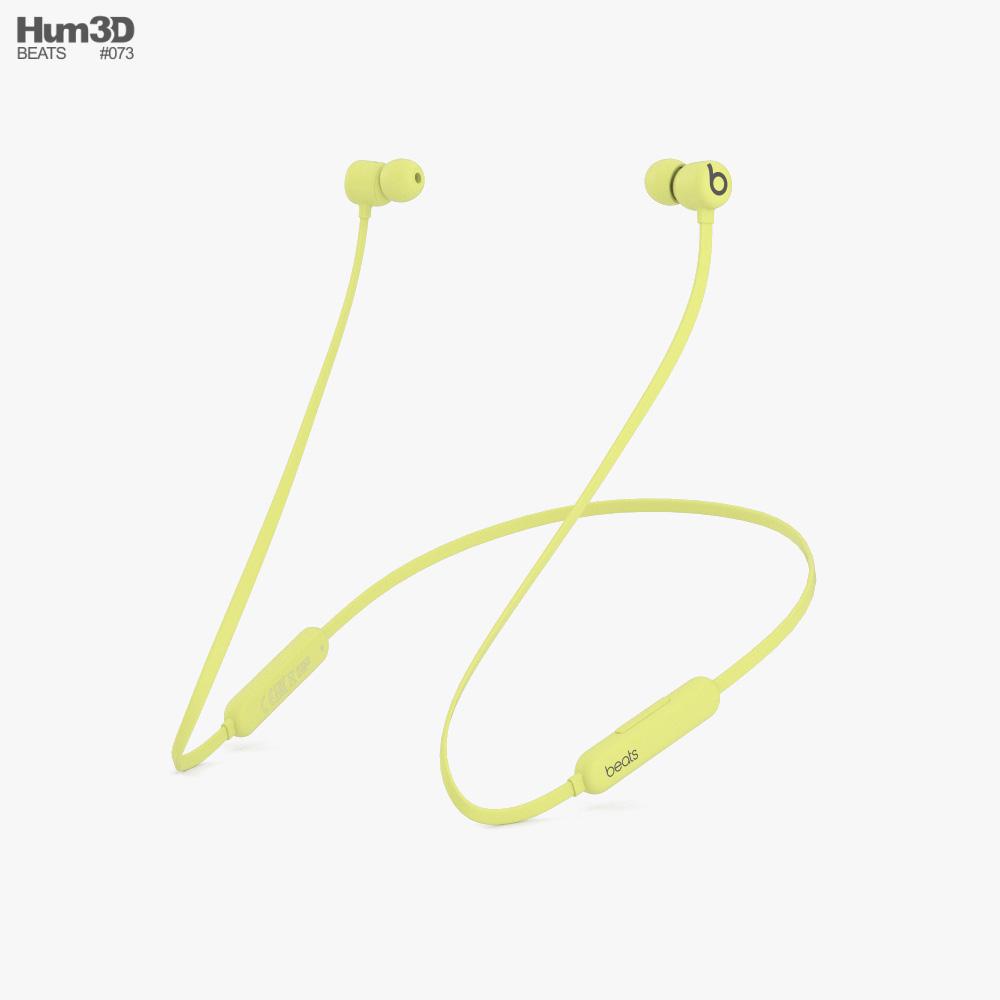 Beats Flex Yuzu Yellow 3D model
