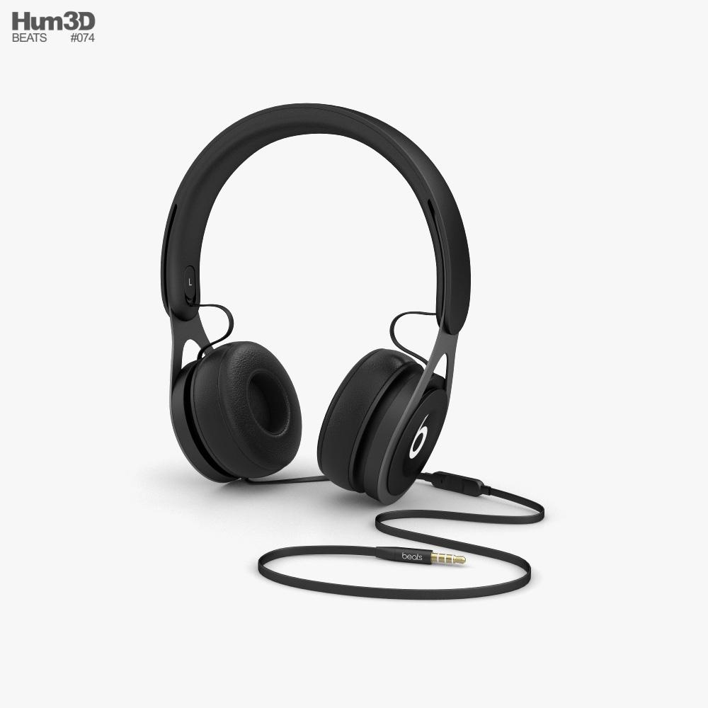 Beats EP Black 3d model