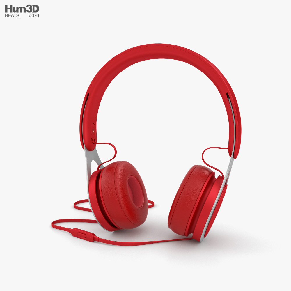 Beats EP Red 3D model