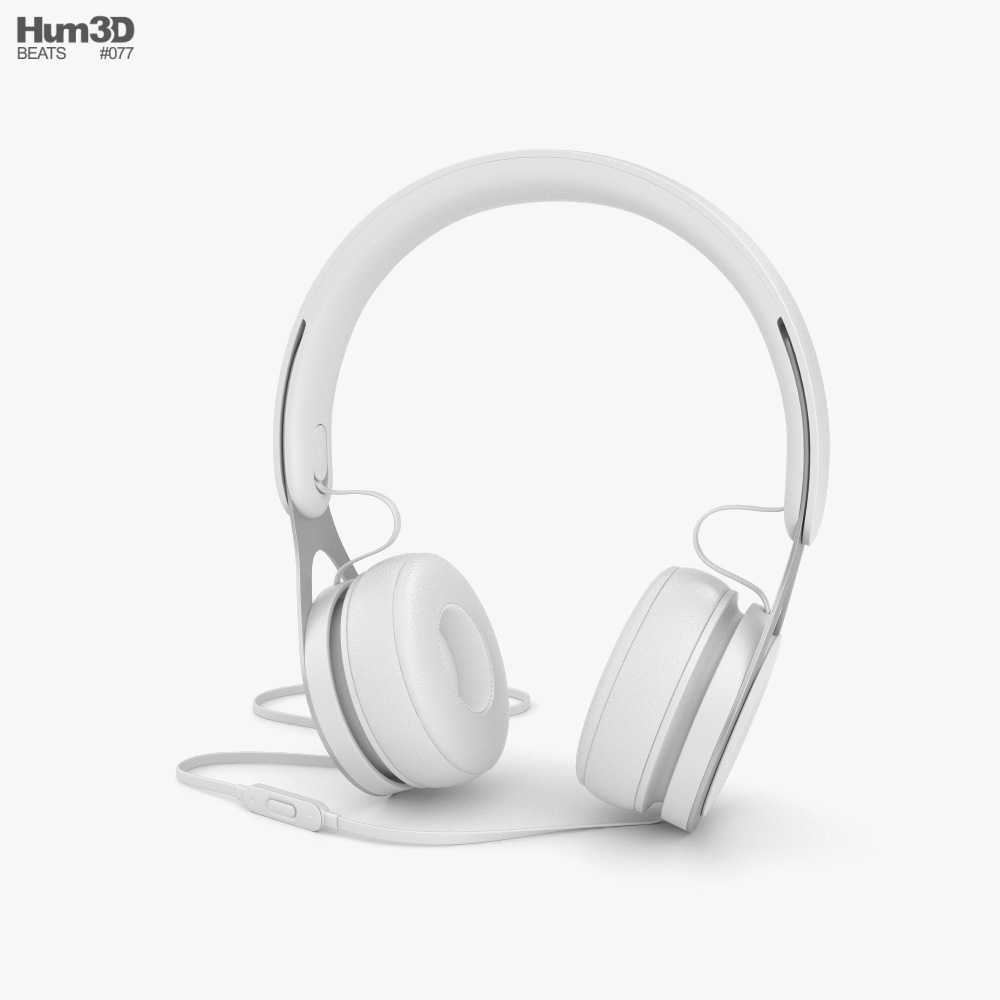 Beats EP White 3D model