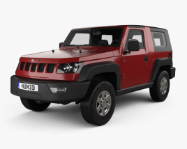 3D model of Beijing BJ40 2013