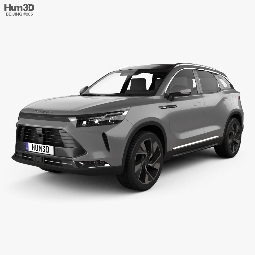 Beijing X7 2020 3D model