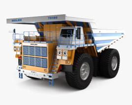3D model of BelAZ 75180 Dump Truck 2014