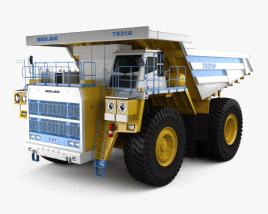 3D model of BelAZ 75310 Dump Truck 2016