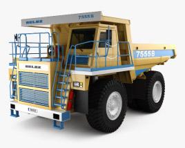 3D model of BelAZ 7555B Dump Truck 2016