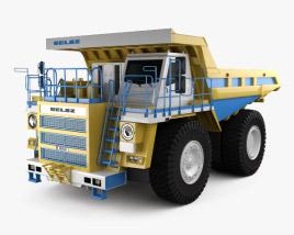 3D model of BelAZ 75581 Dump Truck 2012