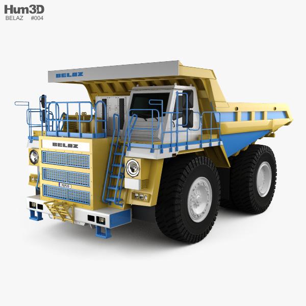 BelAZ 75581 Dump Truck 2012 3D model