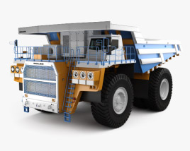 3D model of BelAZ 75603 Dump Truck 2012