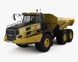 3D model of Bell B45E Dump Truck 2016
