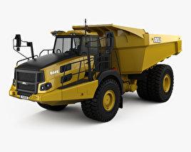 3D model of Bell B60E Dump Truck 2016