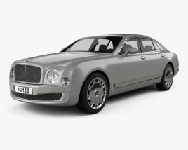 3D model of Bentley Mulsanne 2011