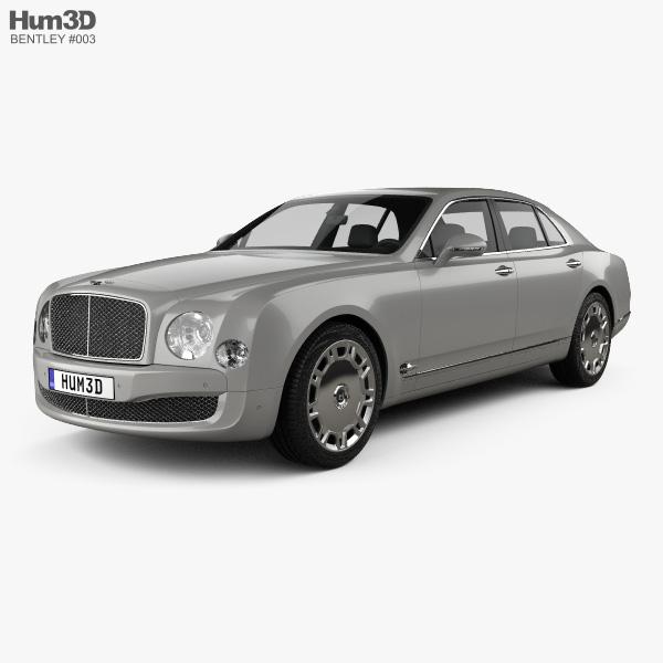 Bentley Mulsanne 2011 3D model