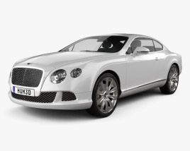 3D model of Bentley Continental GT 2012