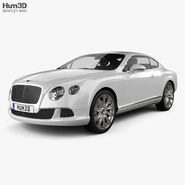 Bentley Continental GT 2012 3D-Modell