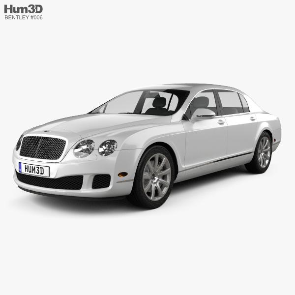 Bentley Continental Flying Spur 2012 3D model