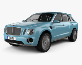 Bentley EXP 9 F 2012 3D model