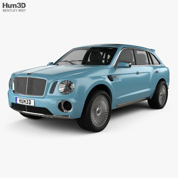 Bentley EXP 9 F 2012 3D model