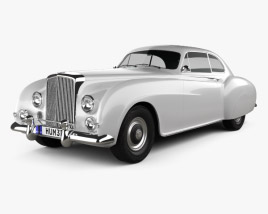 3D model of Bentley R-Type Continental 1952