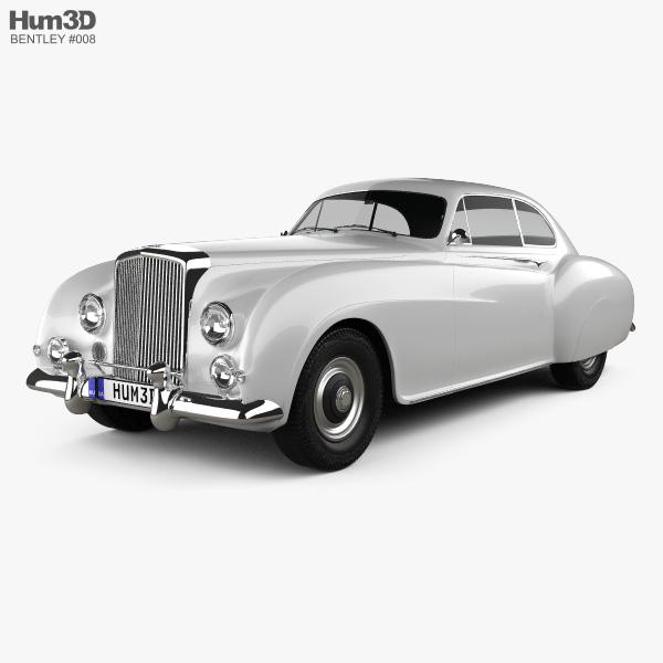 Bentley R-Type Continental 1952 3D model