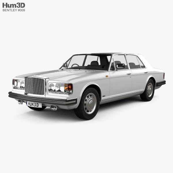 Bentley Mulsanne 1980 3D model