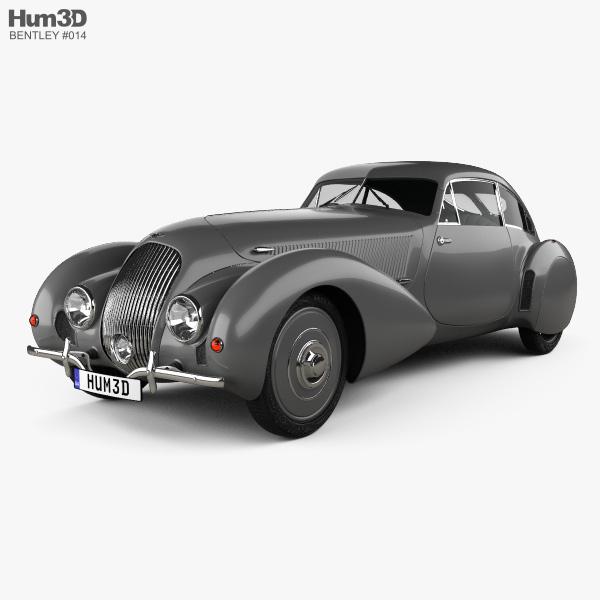 Bentley Embiricos 1938 3D model