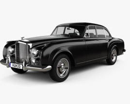 3D model of Bentley S2 Continental Flying Spur 1959