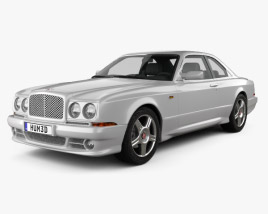 3D model of Bentley Continental SC 1998