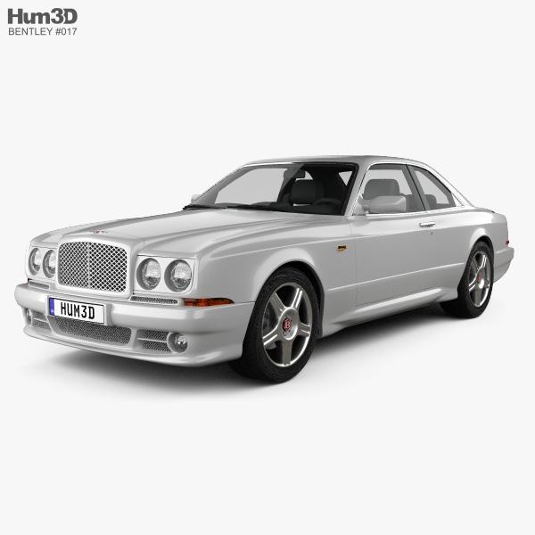 Bentley Continental SC 1998 3D model
