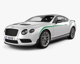 3D model of Bentley Continental GT3-R 2015