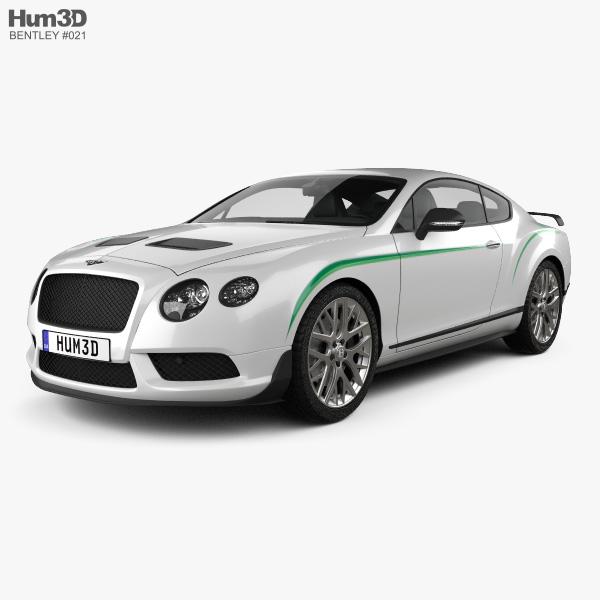 Bentley Continental GT3-R 2015 3D model