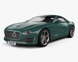 3D model of Bentley EXP 10 Speed 6 2015