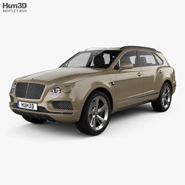 Bentley Bentayga 2016 3D model