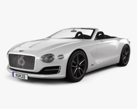 3D model of Bentley EXP 12 Speed 6e 2017