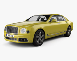 3D model of Bentley Mulsanne Speed 2017