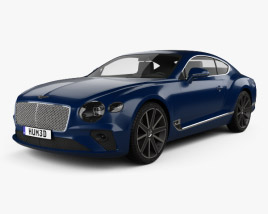 3D model of Bentley Continental GT 2018