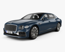 3D model of Bentley Flying Spur 2020