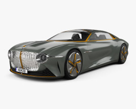 3D model of Bentley EXP 100 2019