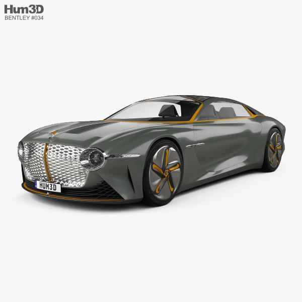Bentley EXP 100 2019 3D model