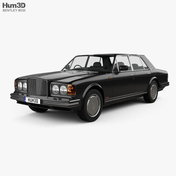 Bentley Turbo R 1997 3D model