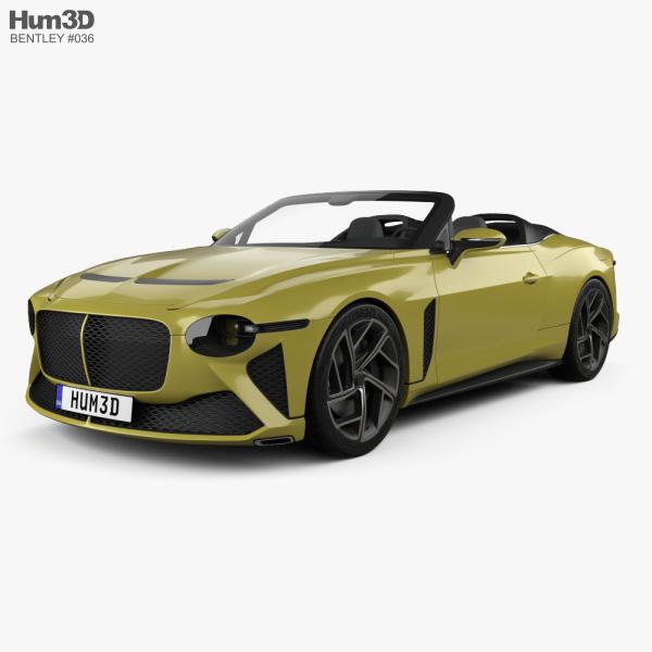 Bentley Mulliner Bacalar 2021 3D model