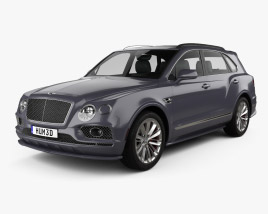 3D model of Bentley Bentayga Speed US-spec 2020