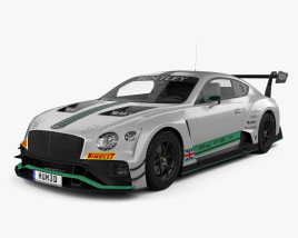 Bentley Continental GT3 2020 3D model